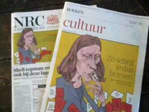 NRC Boeken, portret door Paul van der Steen