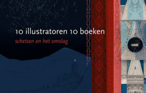 schetsboek uitsnede cover met fragment illustratie van Ludwig Volbeda1
