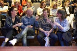 Siegrid Calon, Paul Faassen, Pieter van Eenoge en Ellen Mandemaker @ Illustratie Biënnale 2016
