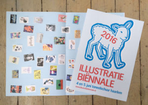 Vouwblad Illustratie Biennale 2016
