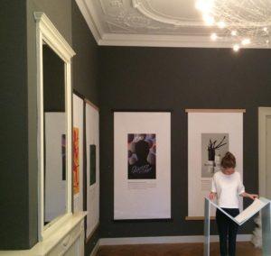 expositie geillusteerde boekomslagen Illustratie Biënnale 2016 in Museum Meermanno