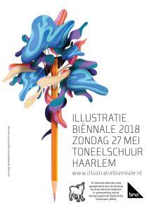 logo Illustratie Biënnale 2018: Merijn Hos
